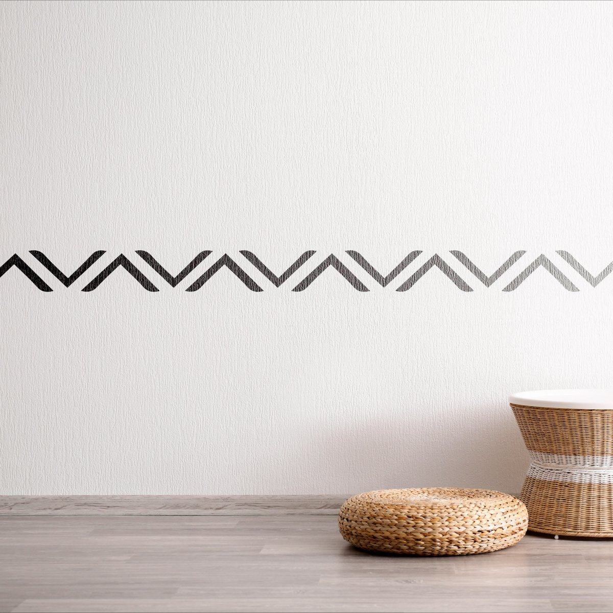 ANATOLIA RUG-RUNNING WATER I / Reusable Allover Large Wall Stencils for Painting