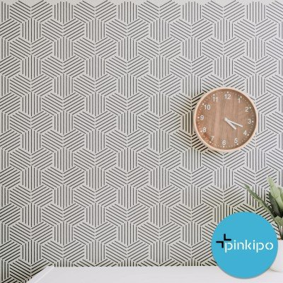 HONEYCOMB / Reusable Allover Large Wall Stencils for Painting
