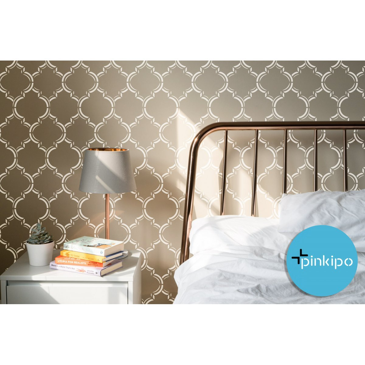 MOROCCAN DREAM / Reusable Allover Large Wall Stencils for Painting
